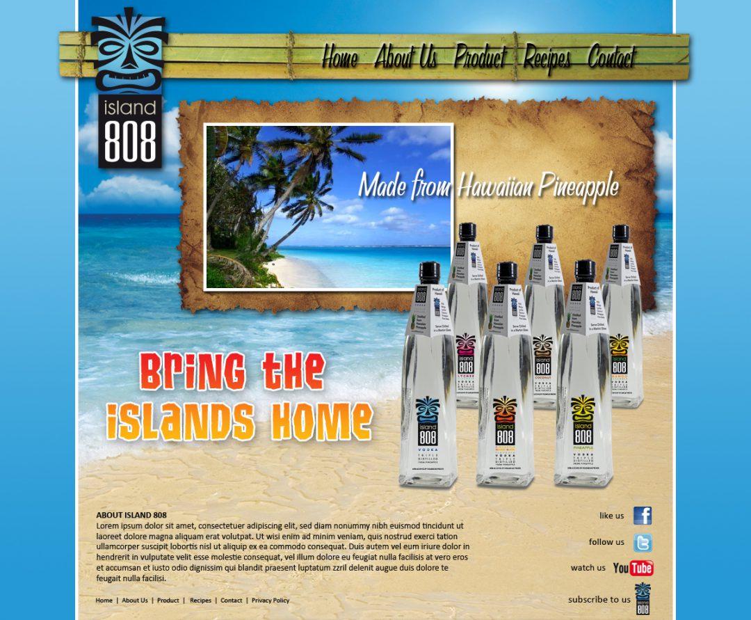 Island 808 Vodka
